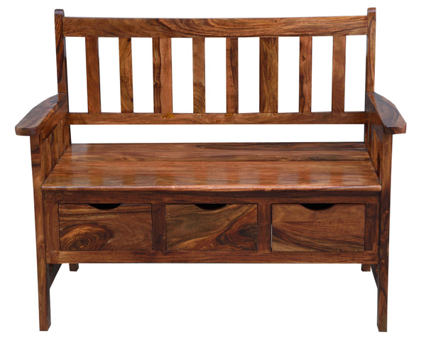 Bench with Storage, CHAIR - Knots Furniture