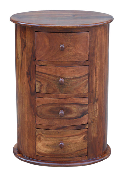 Oval Chest (four drawers), STORAGE - Knots Furniture