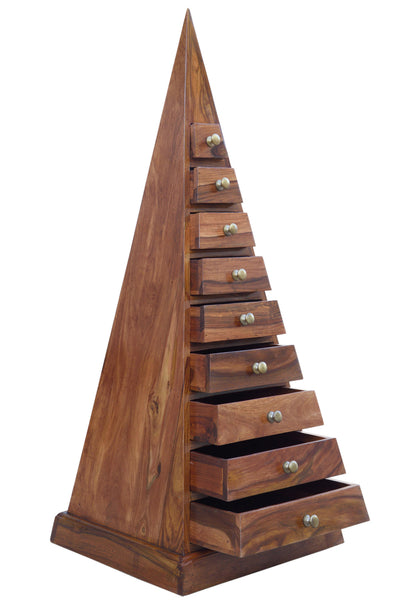 Pyramid Drawer Chest, STORAGE - Knots Furniture