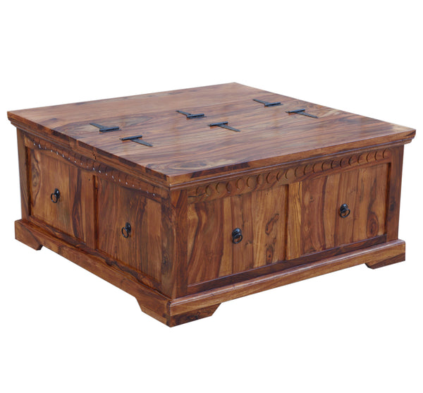 Coffee Table with Storage, TABLE - Knots Furniture