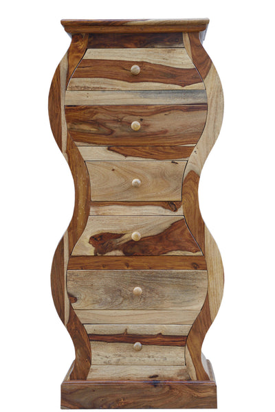 Curved Drawer Chest, STORAGE - Knots Furniture