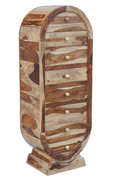Oval Drawer Chest, STORAGE - Knots Furniture