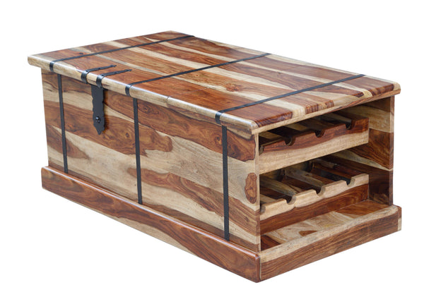 Wine Chest with Storage, STORAGE - Knots Furniture
