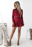 Pixie Dress - Red