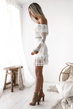 Gatsby Dress - White