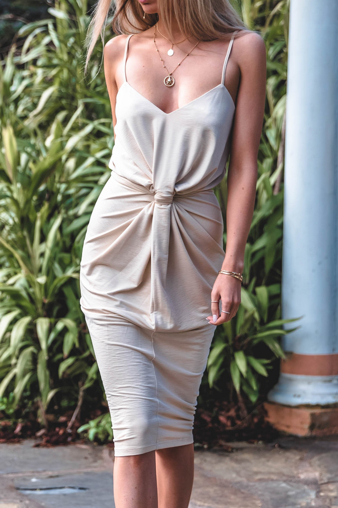 Bella Dress - Light Sand