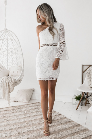 Almalfi Dress - White