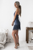 Ayla Dress - Steel Blue