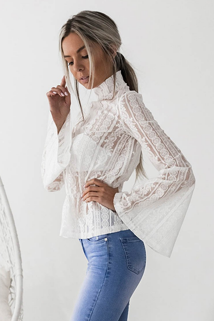Harvest Top - White