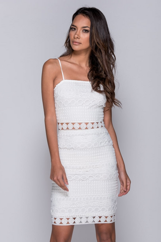 Ohana Dress - White