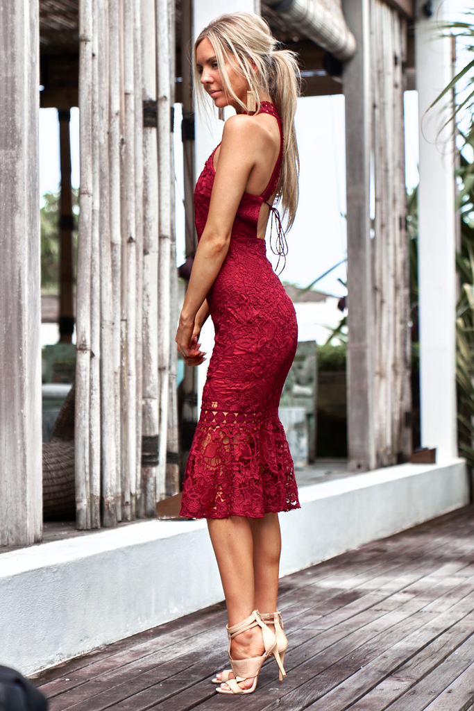 Sonia Dress - Red