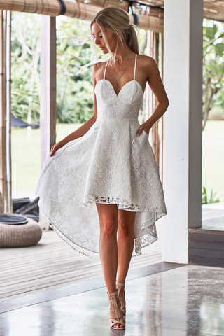 Estelle Dress - White