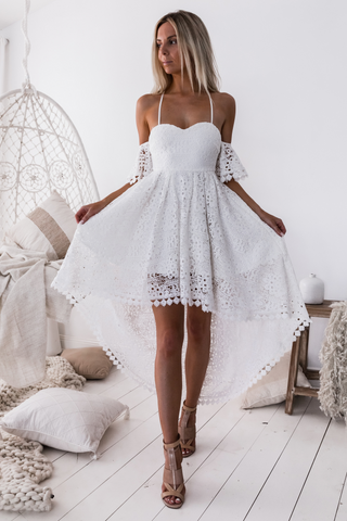 Tia Dress - White