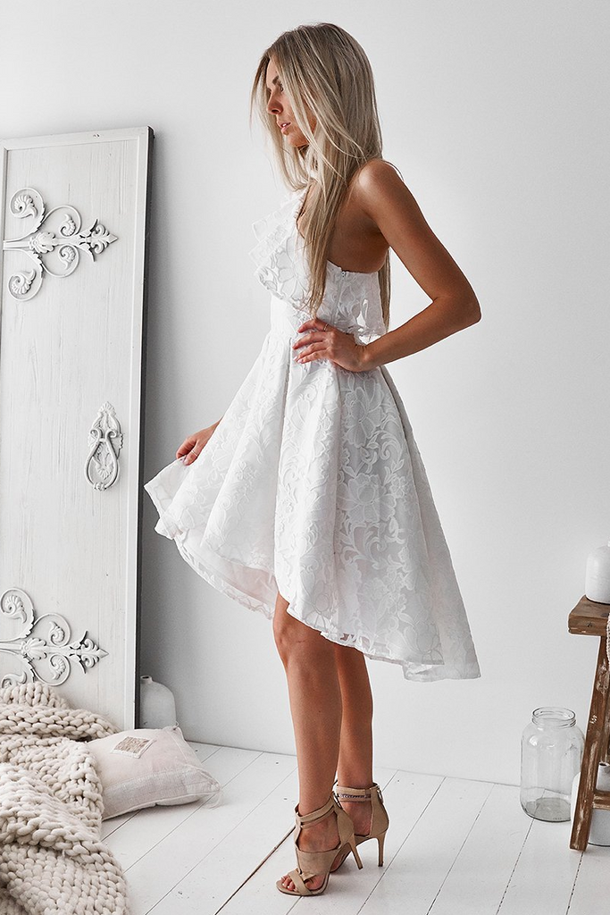 Camilia Dress - White