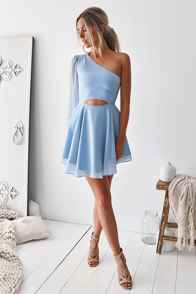 Ohana Dress - Baby Blue
