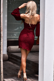 Rosaline Dress - Wine