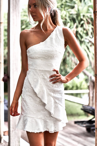 Karlie Dress - White