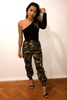 Lacy Pants - Army Print