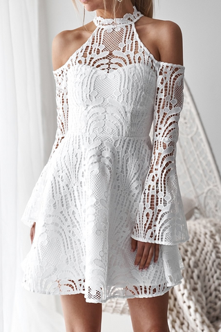 Persian Dress - White