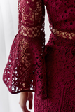 Elysian Dress - Burgundy