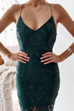 Khaleesi Dress - Emerald Green