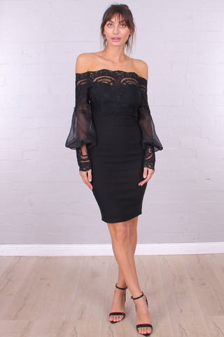 Valerie Dress - Black