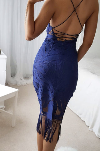 Khaleesi Dress - Navy