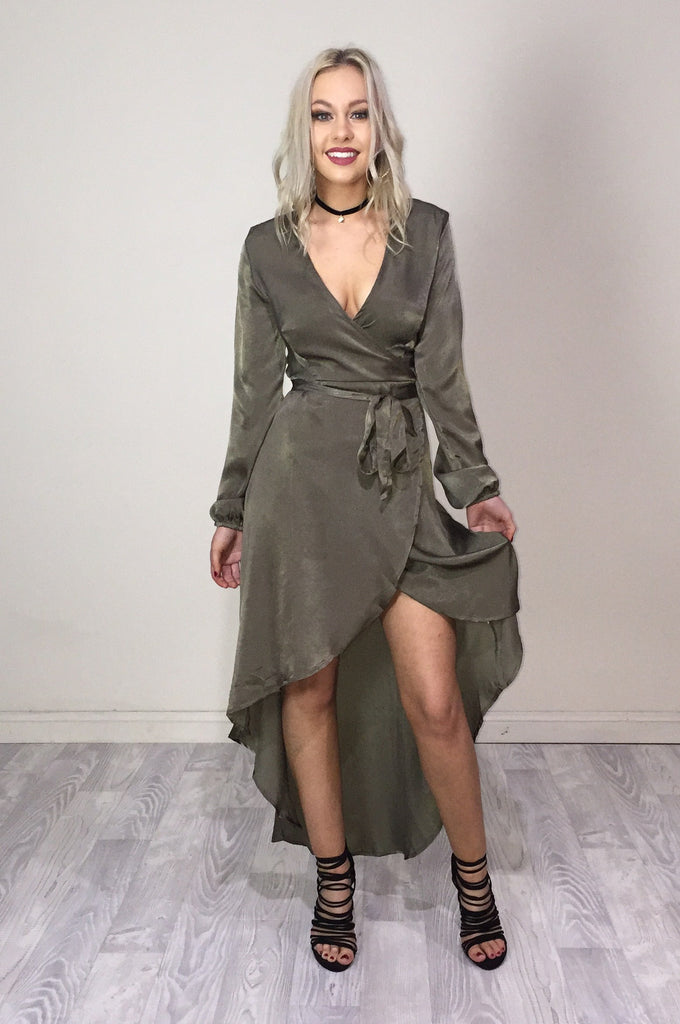 Angelique Wrap Dress