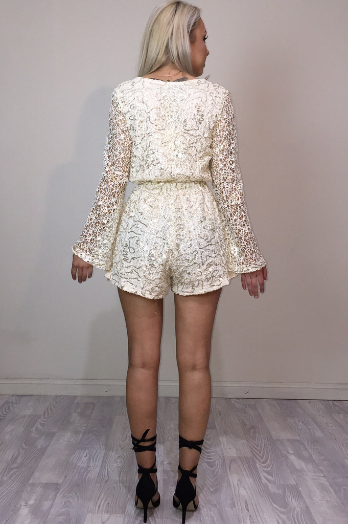Harmony Sequin Playsuit