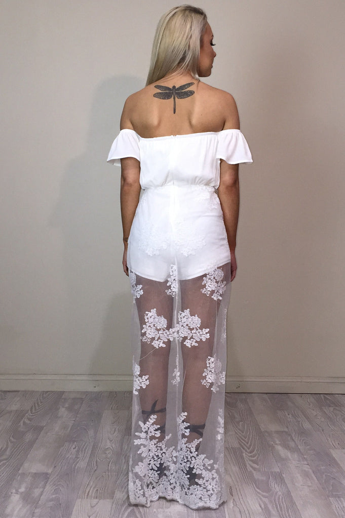 Sheer Harper Playsuit