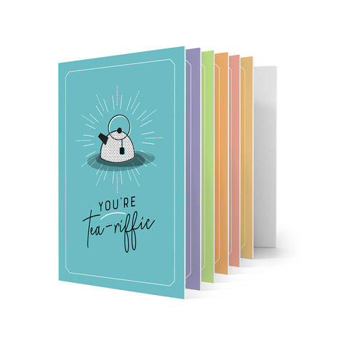 Colour Greeting Cards - Pack of 6