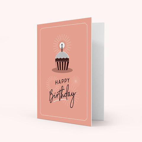 Colour Greeting Card - Birthday