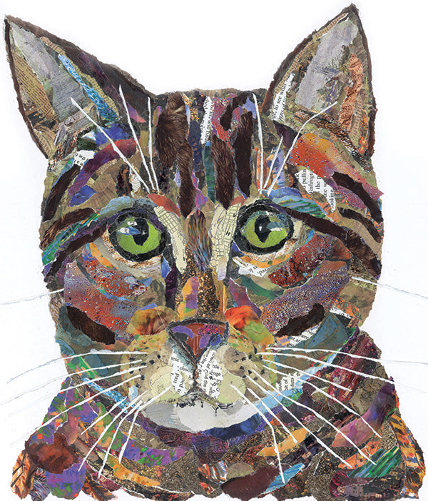 Tabby Cat Mini Print