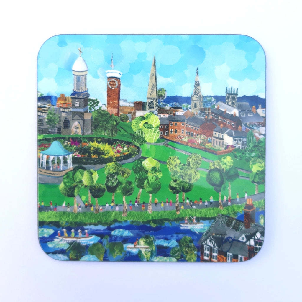 Shrewsbury Quarry Park Coaster NEW