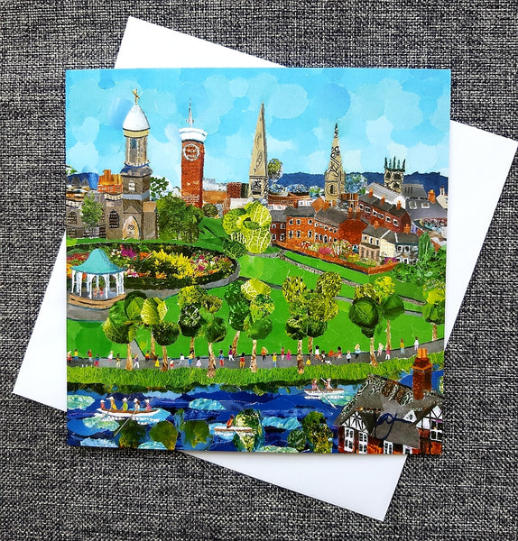 Shrewsbury Quarry Park Card NEW