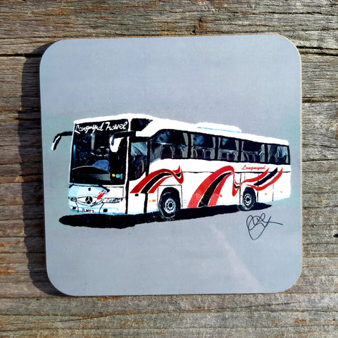 Longmynd Travel Coach Coaster