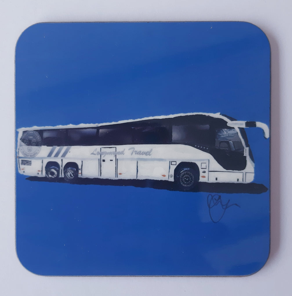 Longmynd Travel S.T.F.C. Coaster