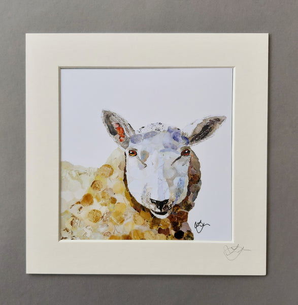 Sheep Mini Print