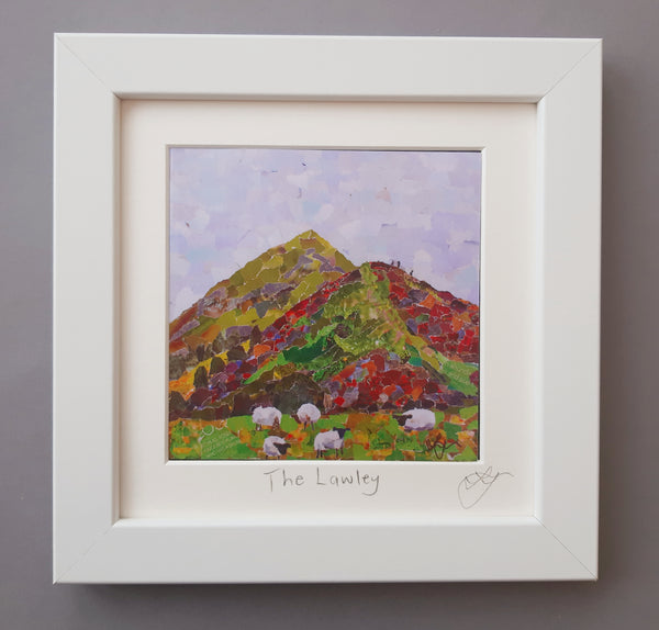 Lawley, Shropshire Mini Print Framed