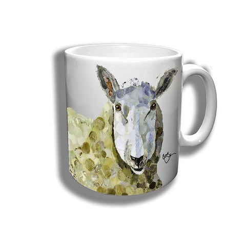 Stella the Sheep Ceramic Mug