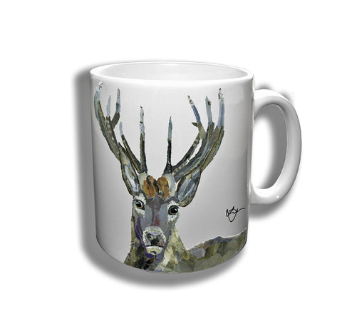 Sebastian the Stag Ceramic Mug