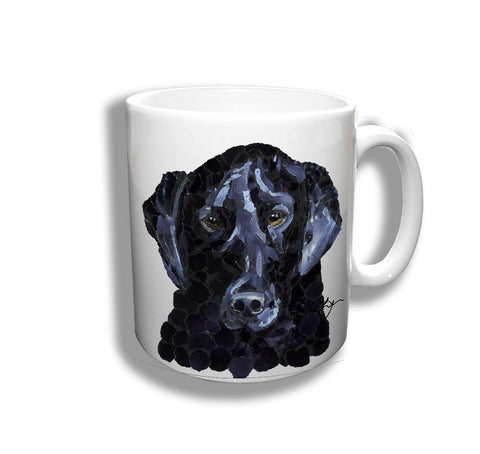 Black Labrador Ceramic Mug