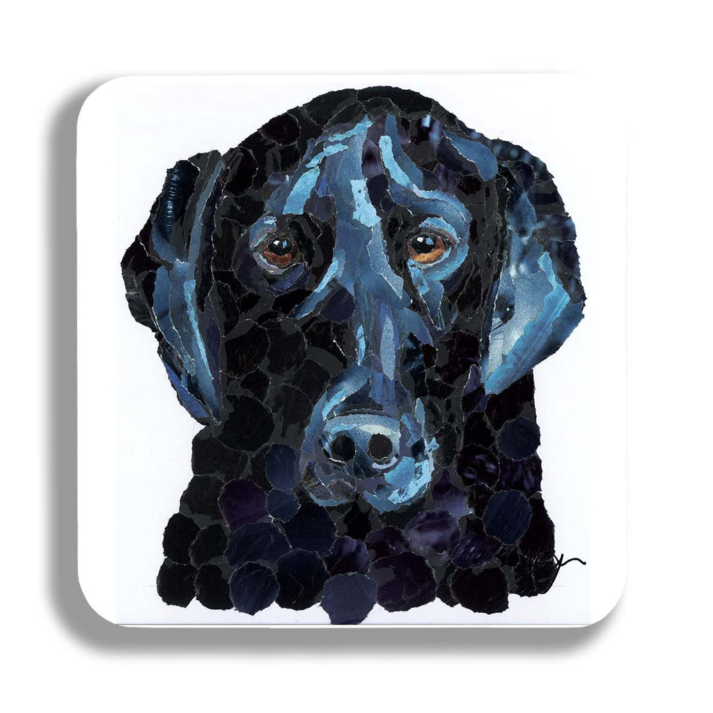 Black Labrador Dog Coaster