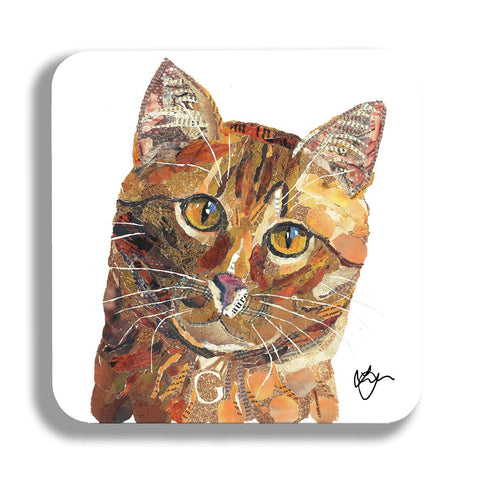 Ginger Tom Cat Coaster