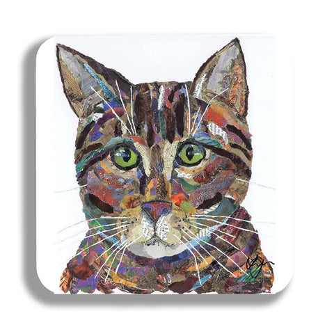 Tabby Cat Coaster