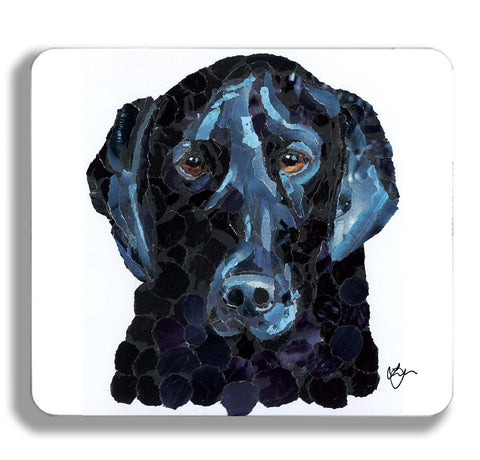 Black Labrador Dog Placemat