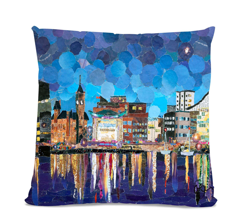 Cardiff Bay 18X18 Faux Suede Cushion