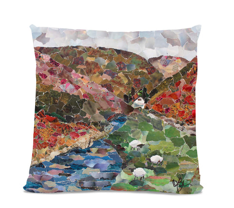 Carding Mill Valley 18X18 Faux Suede Cushion