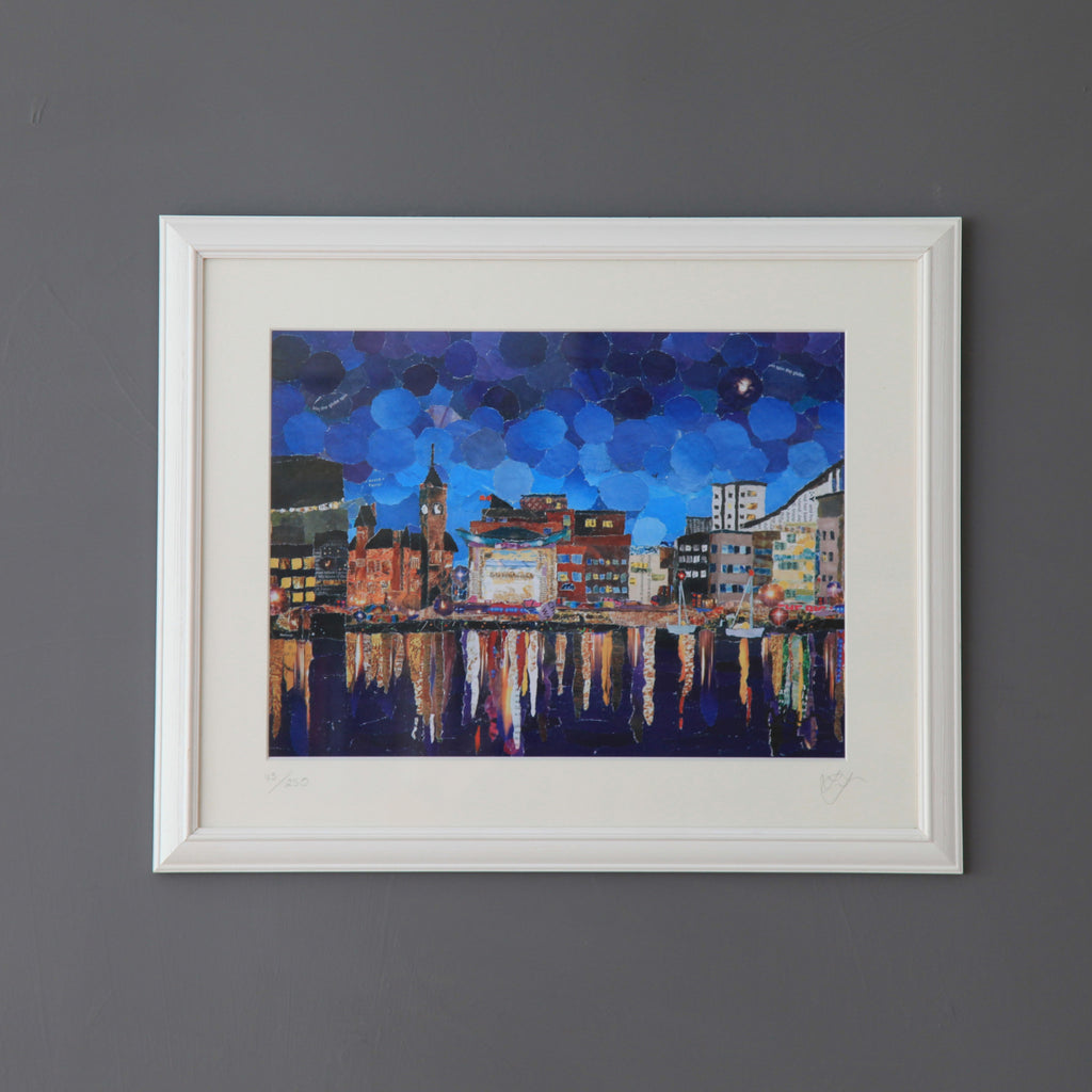 Cardiff Bay Featured Print