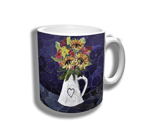 Autumn Flowers Ceramic Mug